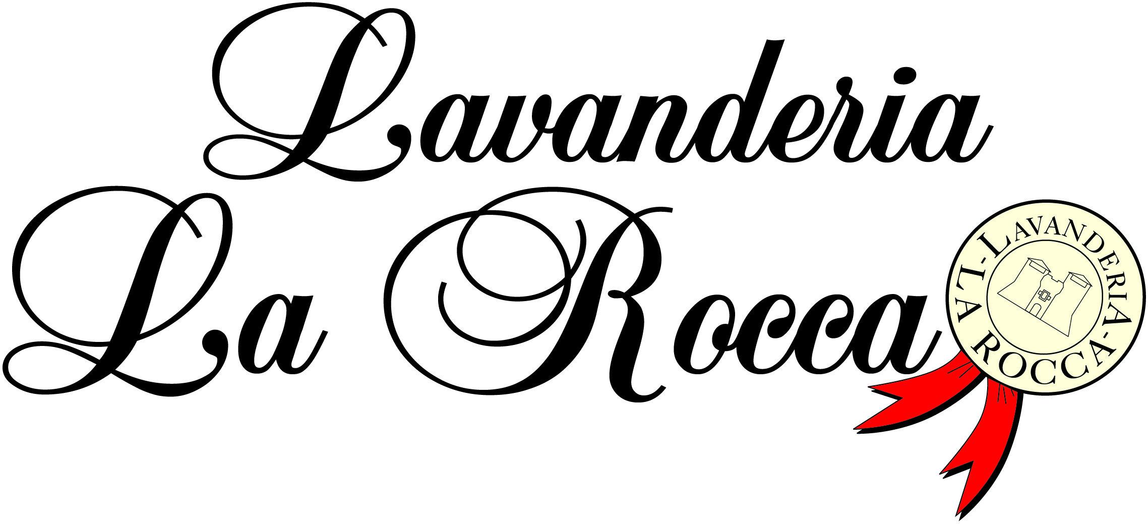 Logo lavanderia la rocca rimini